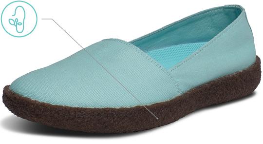 Women's Topanga Flat Crepe Rubber