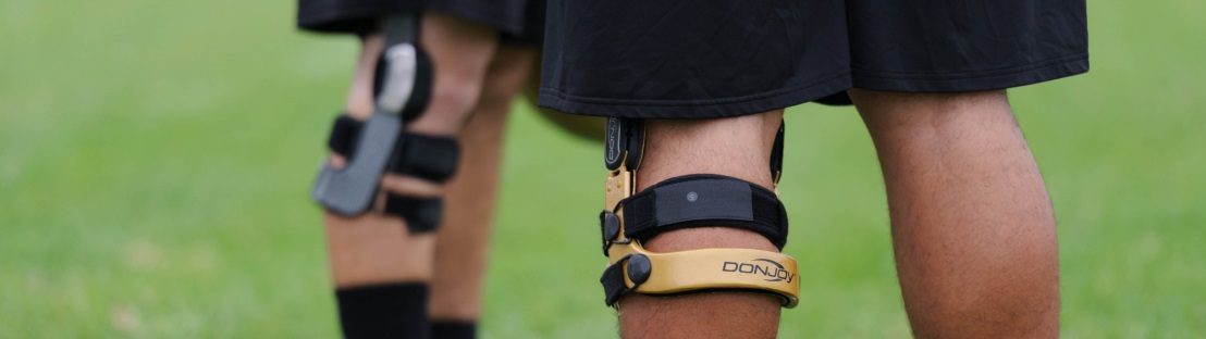 best footall knee brace - defiance III