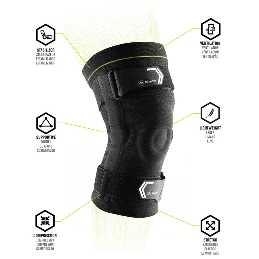 DonJoy Performance Hinged Knit Knee