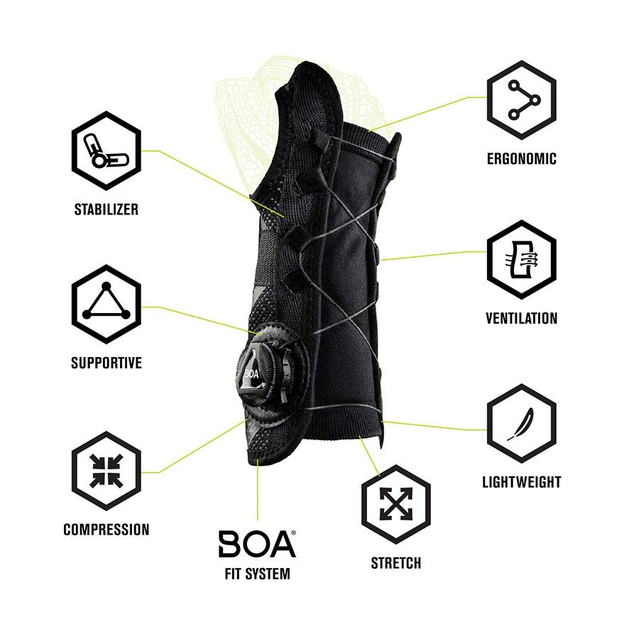 DonJoy Performance Bionic Reel-Adjust Wrist Brace