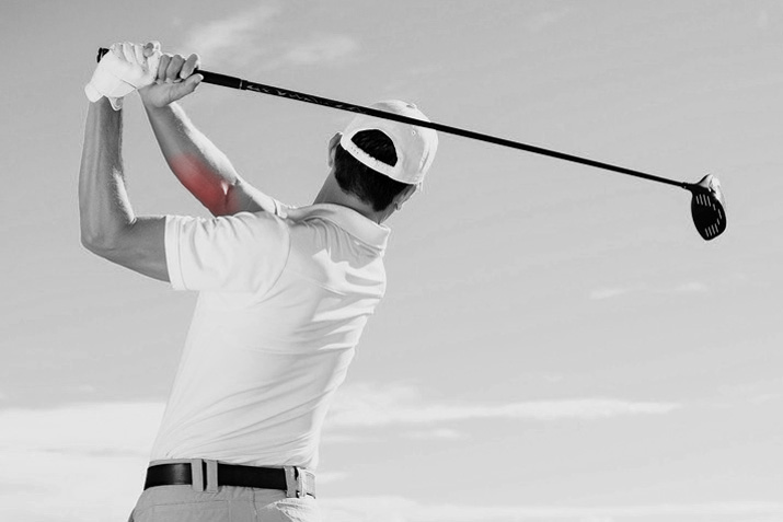 golfer's elbow pain inside