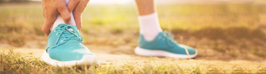healing an ankle sprain