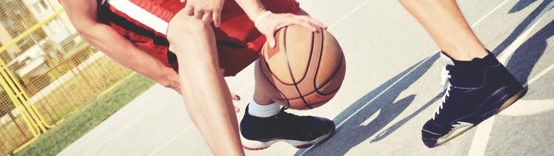 basketball with knee pain