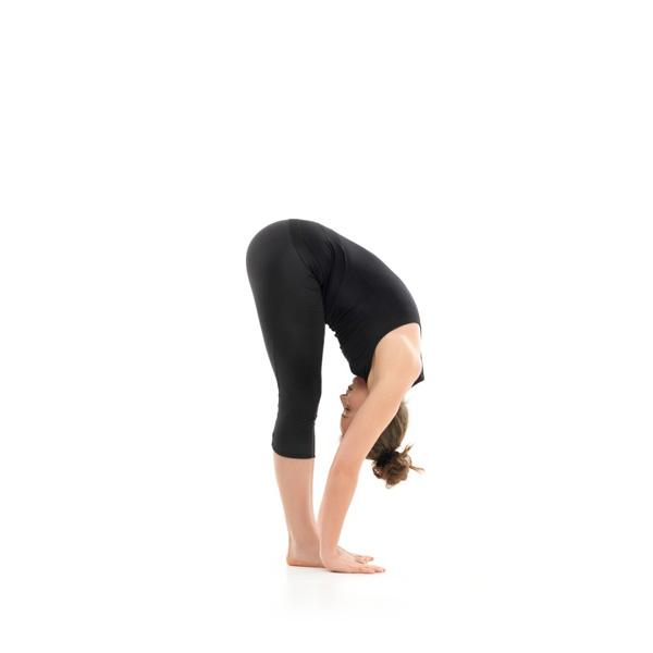 forward fold yoga exercise