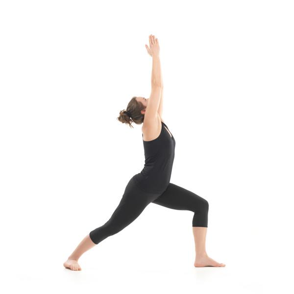 warrior 1 yoga pose