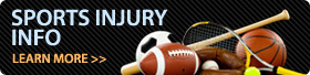 Sports Injury Information - Click here to learn more