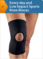 Every day And Low Impact Sports Knee Braces