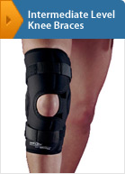 Intermediate Level Knee Braces