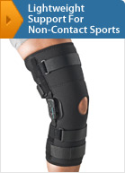 Lightweight Support For Non-Contact Sports