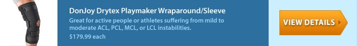 DonJoy Drytex Playmaker Wraparound/Sleeve