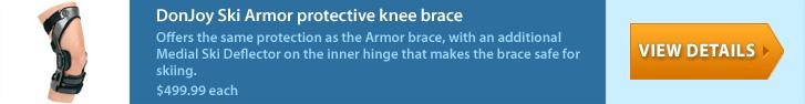 DonJoy Ski Armor Protective Knee Brace